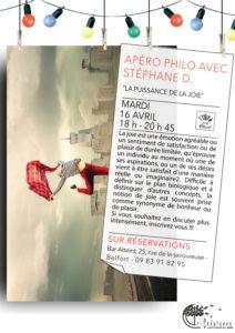 Apéro philo Stéphane Dalzon Bar'atteint Belfort