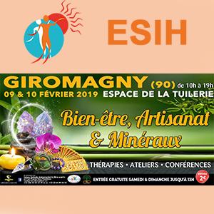 ESIH au salon du bien être 2019 à Giromagny
