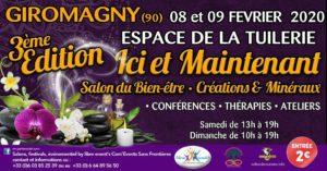 Salon du bien être à Giromagny 8 et 9 février 2020