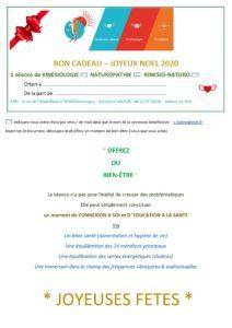"""Offre et Bon """"cadeau Noël"""""""